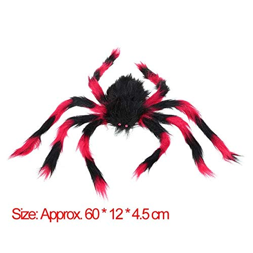Halloween Decorations Outdoor, Fake Spiders That Look Real, Plastic Spider Funny Black Fake Spiders Halloween Party for Halloween Decor Haunted House - -
