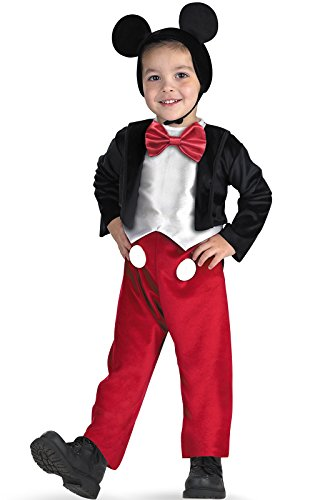 [Costumes For All Occasions DG5027M Mickey Mouse Deluxe 3T To 4T] (Best Tv Show Halloween Costumes)