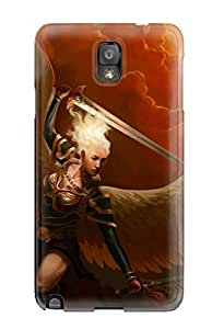 Forever Collectibles Blonde Angel Warrior Hard Snap-on Galaxy Note 3 Case