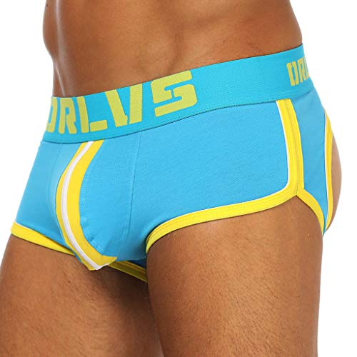 Bulge Pouch Caleçon Sexy vêtements Ihengh Bleu Sous Boxer Panties men Underwear Briefs Shorts Slip Hommes Homme Lettre Imprimée v7Pqn7g