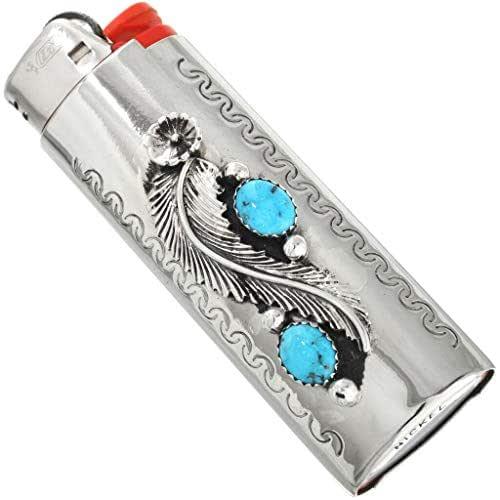 Apartments In Kingman Az: Amazon.com: Natural Kingman Turquoise Silver Lighter Case