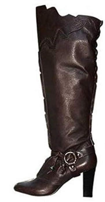 Glattleder Stiefel Fashion Mit Apart Stiefelette 80OynwNmv