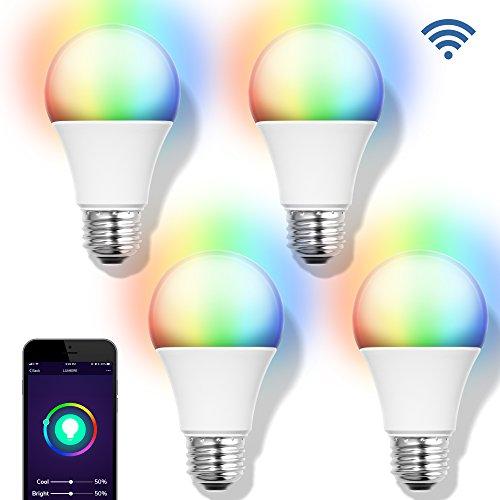 GMYLE Smart WiFi LED Bulb