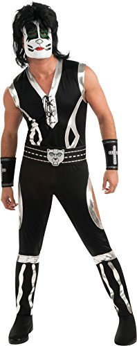 The Catman Men's Adult Deluxe Costume, Large, Chest Size 42-44