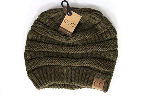 61aa7e61703 Crane Clothing Co. Women s Classic CC Beanies One Size Army at ...