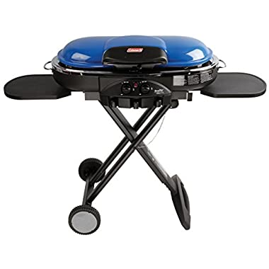 Coleman Road Trip Propane Portable Grill LXE, Blue