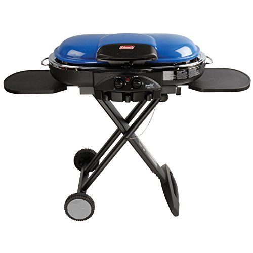 Coleman RoadTrip LXE Portable Propane Grill, Blue