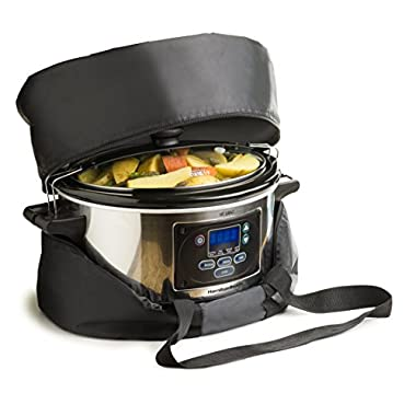 Bellemain Thermal Slow Cooker Carrying Bag (L)For the Hamilton Beach 33967A Set 'n Forget 6-Quart Slow Cooker