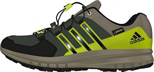 adidas Duramo Cross X GTX Men base green/black/solar yellow Größe 41 1/3 2015