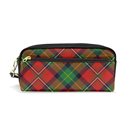 Pencil Case Scots Style Clan Boyd Tartan Plaid Gift Students Canvas Pen Bag Pouch Stationary Case Makeup Cosmetic Bag