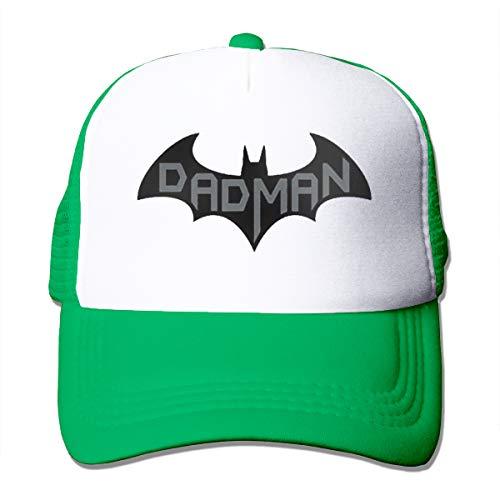 (ZooJane Unisex Hats Super Dadman Bat Hero Funny Trucker Hats )