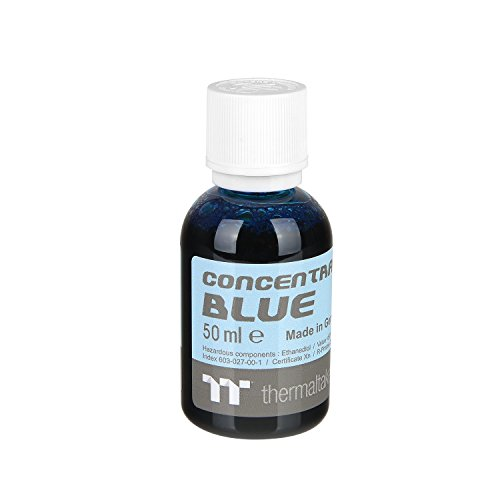 Thermaltake TT Premium Transparent Concentrate Dye 50ml Blue CL-W163-OS00BU-A
