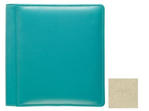 ST. TROPEZ BEIGE #103 pebble grain leather 1-up 5x7 album by Raika - 5x7