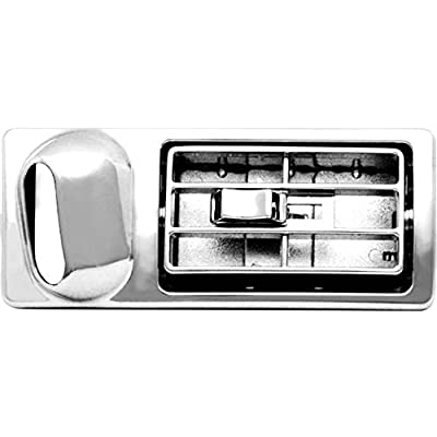 Woody's WP-DP461 Chrome Kenworth Vent: Automotive