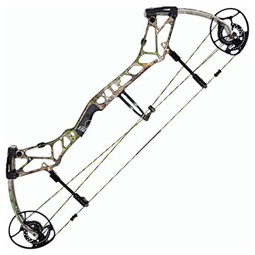Bear Archery BR33 RH 45-60 Compound Bow, Realtree XTRA Green