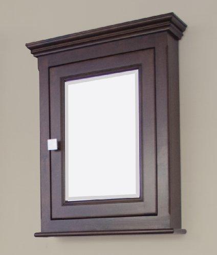 36-in. W x 31.5-in. H Modern Plywood-Veneer Wood Mirror In Walnut by American Imaginations (Image #2)