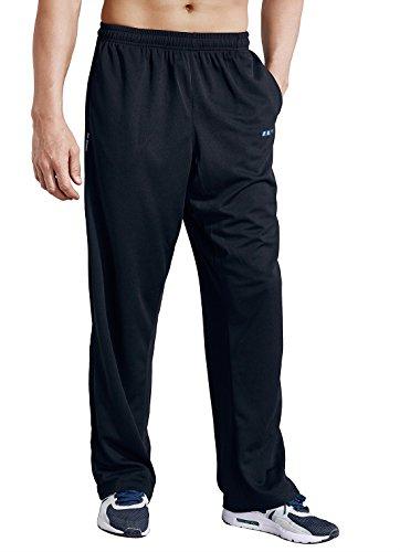 Jogging Respirant Noir Pantalon Luwell Homme De Sport Léger qBAA1Yx