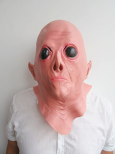 Refee Masquerade/Halloween Horror Alien mask (Alien Child Mask)
