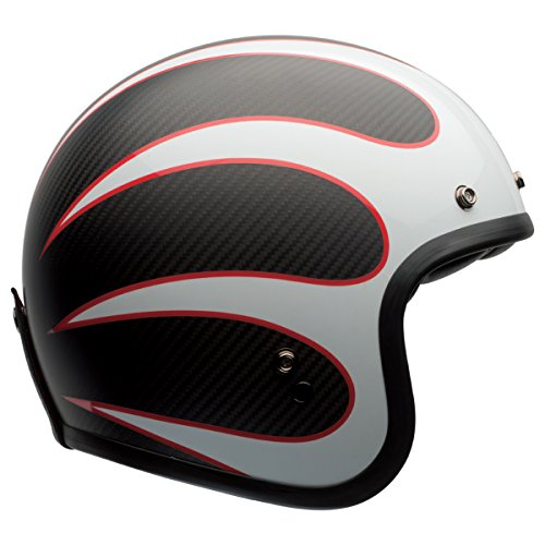 Bell Custom 500 Unisex-Adult Open face Street Helmet (Ace Cafe Tonup, X-Large) - Open Face Bell Helmets
