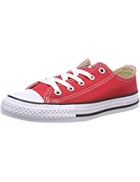 C/T All Star OX Little Kids Fashion Sneakers Red 3j236-3