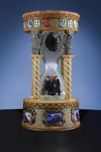 Harry Potter with Dementors Hourglass Snow Globe