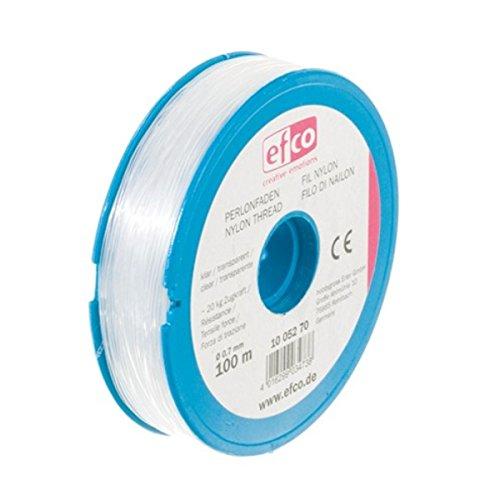 EFCO Zugkraft Gewinde, Polyamid, transparent, 20,0kg, 0,7mm Durchmesser, 100m