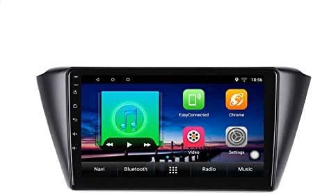 Reproductor multimedia GPS para coche Android 10 de 9 pulgadas para Skoda Fabia 2015 2016 2017 audio radio estéreo navegador Bluetooth Wifi: Amazon.es: Electrónica