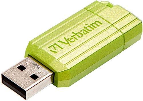 Verbatim Pinstripe Usb Drive 64 Gb Usb Flash Drive Computers Accessories
