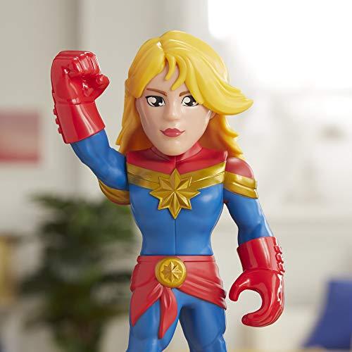 Super Hero Adventures Sha Mega Mighties Cap Marvel