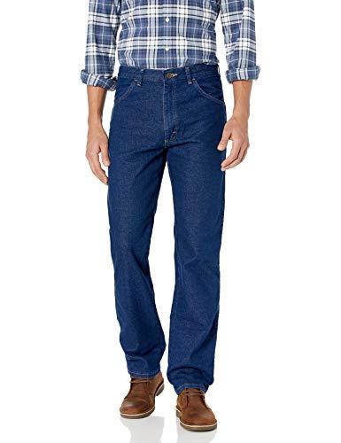 Wrangler Men's Authentics Classic Flex Jean, Dark Wash, 38x29
