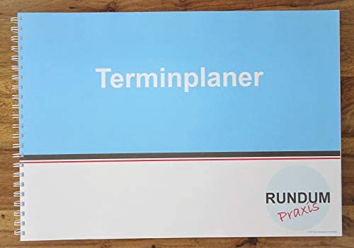 Terminplaner Praxisplaner Terminkalender Montag bis Freitag 3 Spalten 15 und 30 Minuten Takt 8 bis 21 Uhr A3 quer