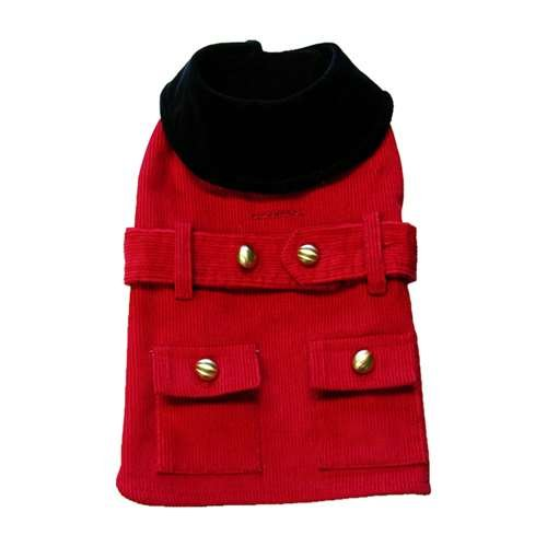 Little Red Riding Coat with Harness Opening