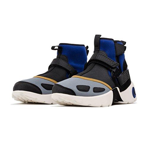 online retailer 1d4f8 a9029 Jordan Nike Homme Air Trunner Lx Haut Nrg Aj3885-010 Bleu   Noir   Gris