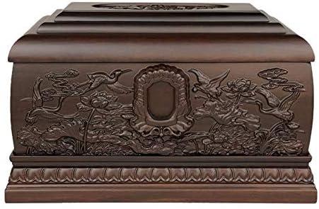 灰大人の骨壷 人間の灰のための壺 - Casketのボックス永遠のメモリーボックス - 名誉この壮大な木製の壺とあなたの最愛の一つ彼らが値する(11.8x7.9x7.5インチ) BUYT
