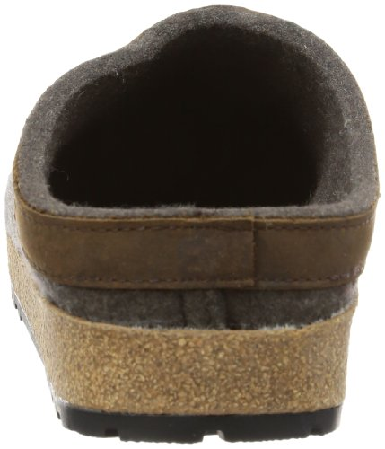 Haflinger Unisex Gzl In Pelle Con Finiture Grizzly Zoccoli