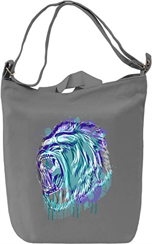 Colorful Gorilla Borsa Giornaliera Canvas Canvas Day Bag  100% Premium Cotton Canvas  DTG Printing 