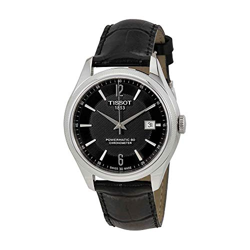 - Tissot T-Classic Ballade Automatic Black Dial Mens Watch T108.408.16.057.00