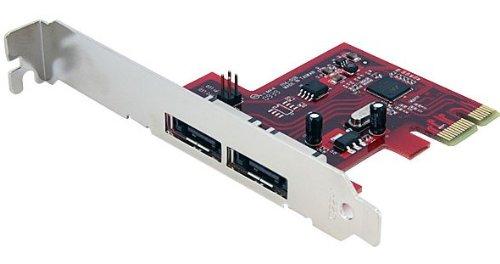 58 opinioni per StarTech.com Scheda eSATA Controller PCI Express a 2 porte 6 Gbps, SATA