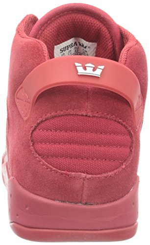 Suede Canvas Mens Red Skytop Shoes III Supra ZH4qw