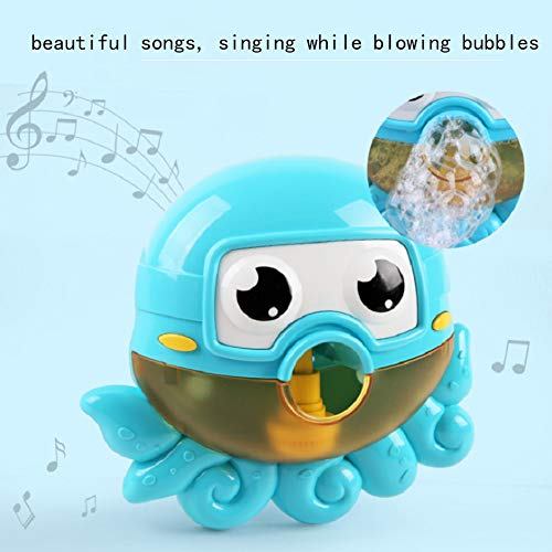 (Little Bado Baby Bath Musical Bath Toys Bubble Maker for Toddlers Bath Toys for 1 Year Old Bubble Machine Bathtime Bathtub Toys for Boys Girls Ages 1 2 3 4 Year Old)