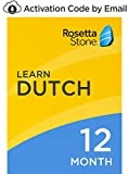 Rosetta Stone: Learn Dutch for 12 months on iOS, Android, PC, and Mac - mobile & online access [PC/Mac Online Code]