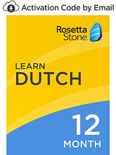 Rosetta Stone: Learn Dutch for 12 months on iOS, Android, PC, and Mac [Activation Code by Email] by Rosetta Stone