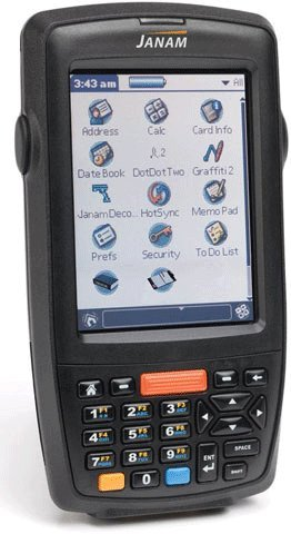 Janam XP30W-1NCLYC00 Series XP30 Handheld Computing Devices, Rugged PDA, 2D Imager, Numeric Keypad 240 x 320 QVGA Color Display, No Bluetooth by JANAM