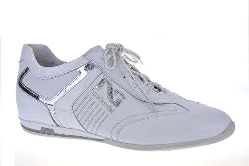 Bianco Pelle P105691d Sneaker Primavera Nero Donna Giardini estate In pw6Bqc8zfx
