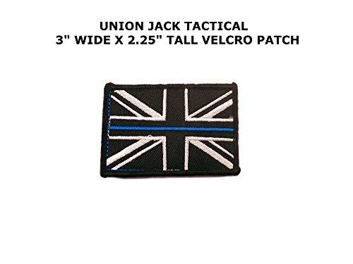 Union Jack Flag Embroidered Velcro Tactical Comics Cartoon T