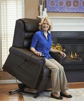 Golden Relaxer - Golden Technologies Relaxer Large Lift Chair PR-756L with Hazelnut Fabric (ready to ship)