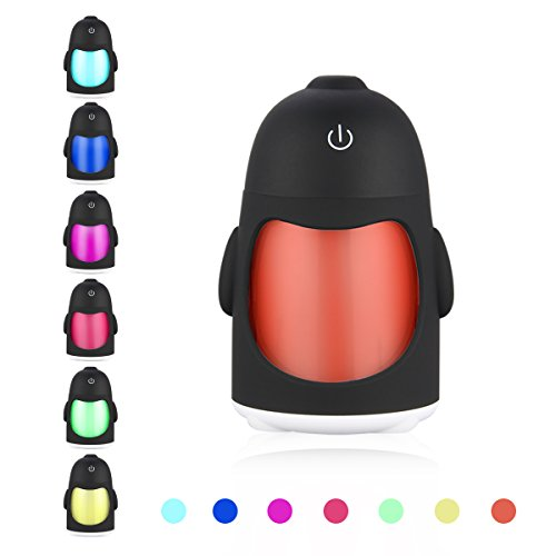 Humidifier LANMU Portable Colorful Automatic