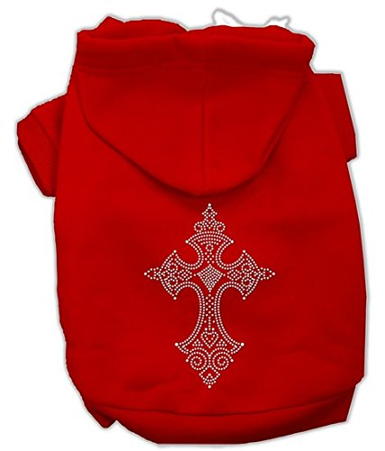 mirage-pet-products-18-inch-rhinestone-cross-hoodies-xx-large-red