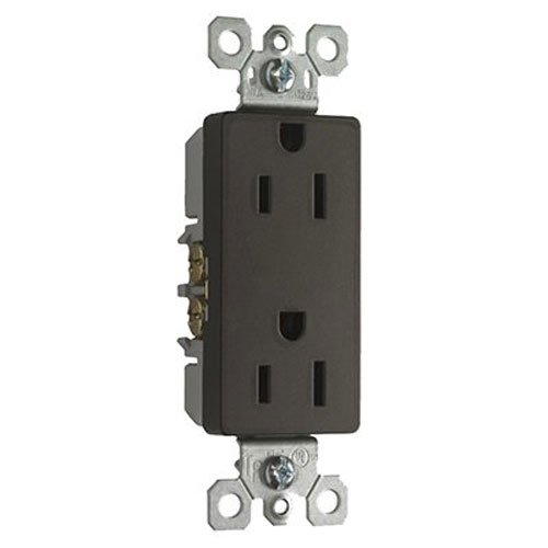 Legrand - Pass & Seymour 885TRDBCC12 15A Tamper Resistant Receptacle - Bronze Outlets