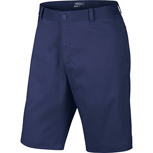 - Nike Men's Flat Front Short, Midnight Navy, 30 X 11